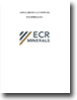 ECR Minerals Annual Report and Accounts 2012